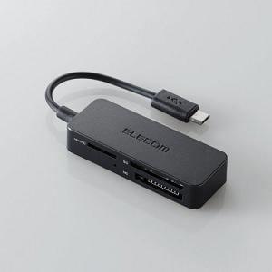 エレコム タブレット・スマホ専用メモリリーダライタ MRS-MB05BK