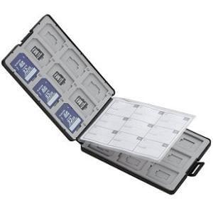 エレコム CMC-SDCPP36BK SD/microSDカードケース プラスチックタイプ ( SD:18枚 / microSD:18枚収納可能 ) ブラック