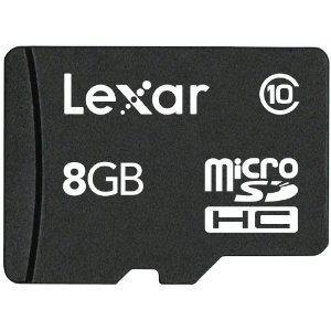 レキサー・メディア microSDHCカード 8GB Class10 LSDMI8GBABJPC10