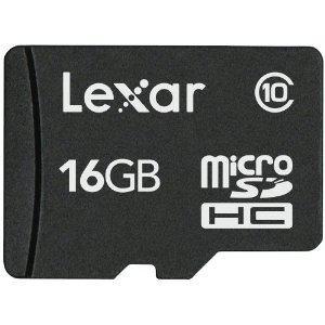 レキサー・メディア microSDHCカード 16GB Class10 LSDMI16GABJPC10