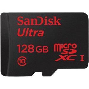 サンディスク(SanDisk) SDSDQUL-128G-J35A ウルトラmicroSDXCカード(128GB/UHS-I/Class10/SDXC変換アダプタ付属/最大転送速度30MB/秒)