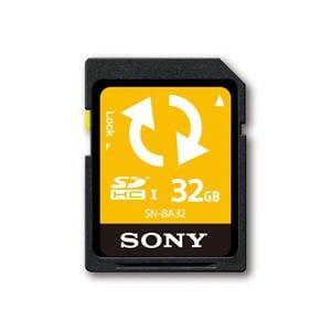 SONY F UHS-I Class4 バックアップ機能付きSDHCメモリーカード / 32GB SN-BA32