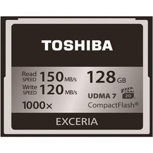 東芝 コンパクトフラッシュ EXCERIA (128GB) CF-EZ128