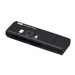 ナカバヤシ USB3.0マルチカードリーダー/ライター (ブラック) CRW-33M60BK