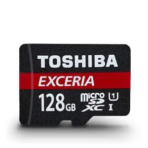 東芝 EXCERIA UHS-I microSDXCメモリカード 128GB MU-F128GX