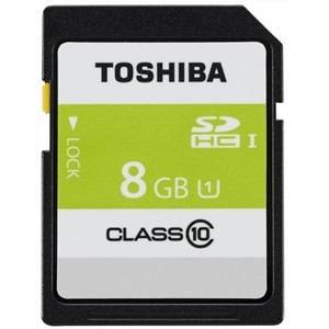 東芝 高速SDHC UHS-Iメモリカード Class10対応 8GB SDAR40N08G