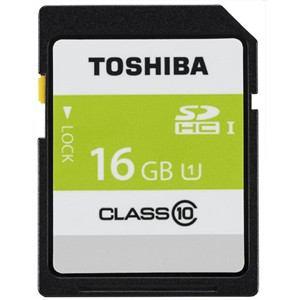 東芝 高速SDHC UHS-Iメモリカード Class10対応 16GB SDAR40N16G