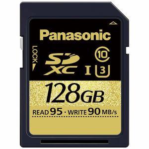 パナソニック 128GB Class3(Class10)対応SDXC UHS-Iメモリーカード RP-SDUC128JK