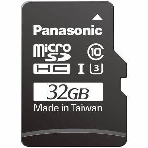 パナソニック 32GB Class3(Class10)対応microSDHC UHS?Iカード RP-SMGB32GJK
