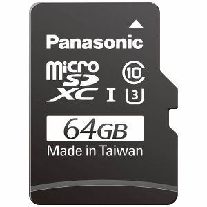 パナソニック 64GB Class3(Class10)対応microSDXC UHS?Iカード RP-SMGB64GJK