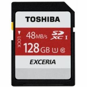東芝 SDXCメモリーカード 128GB Class10 UHS-I SD-FU128G
