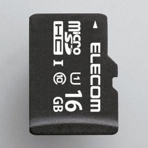 エレコム MF-DMR016GUL microSDHCメモリカード(UHS-I対応) 16GB