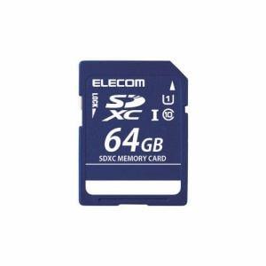 エレコム MF-DSD064GU11R  SDHCメモリカード(UHS-I 対応)