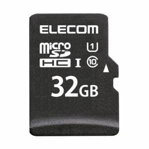エレコム MF-DMR032GU11R  microSDHCメモリカード(UHS-I対応)