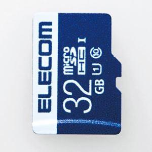 エレコム MF-MS032GU11R データ復旧microSDHCカード(UHS-I U1) 32GB