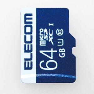 エレコム MF-MS064GU11R データ復旧microSDXCカード(UHS-I U1) 64GB