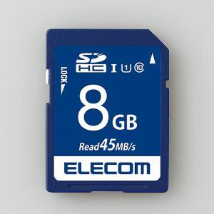 エレコム MF-FS008GU11R データ復旧SDHCカード(UHS-I U1) 8GB