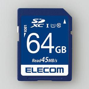 エレコム MF-FS064GU11R データ復旧SDXCカード(UHS-I U1) 64GB