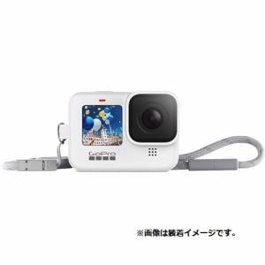 ゴープロ ADSST-002 スリーブ+ランヤード HERO9 Black用 ホワイト