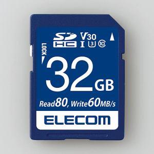 エレコム MF-FS032GU13V3R データ復旧SDHCカード(UHS-I U3 V30) 32GB