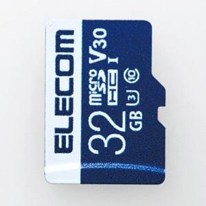 エレコム MF-MS032GU13V3R データ復旧microSDHCカード UHS-I U3 V30 32GB