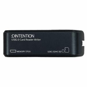 Dadandall DDSDRW0001BL USB2.0 メモリーカードリーダーライター ブルー   ブルー