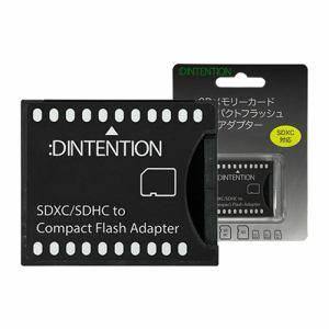 Dadandall DDSDCF0001 SDメモリーカード用 コンパクトフラッシュ 変換アダプター
