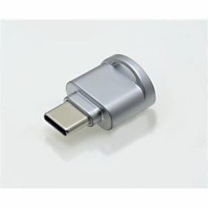 フリーダム FCR-C1MSV USB Type-Cカードリーダ(microSD専用)   シルバー