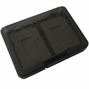 磁気研究所 HD-MCCASE4BK SD/microSDメモリーカード収納ケース 4枚用