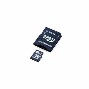 エレコム MF-CAMR032GU11A ドラレコ/カーナビ向け 車載用microSDHCメモリカード 32GB
