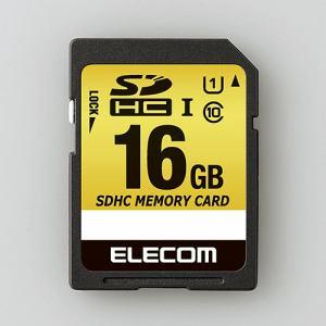 エレコム MF-CASD016GU11A ドラレコ/カーナビ向け 車載用SDHCメモリカード 16GB