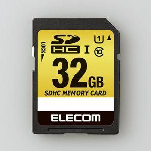 エレコム MF-CASD032GU11A ドラレコ/カーナビ向け 車載用SDHCメモリカード 32GB