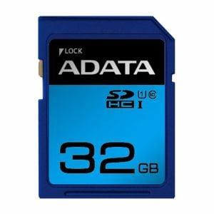 ADATA ASDH32GUICL10RD SDHC/XC UHS-I CLASS10 カード ADATA Premier SDメモリーカード 32GB Class10 UHS-I