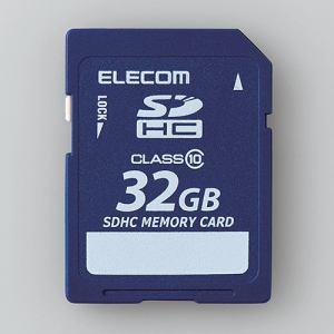 エレコム MF-FSD032GC10R データ復旧SDHCカード 32GB