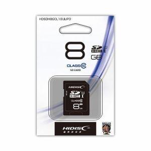 磁気研究所 HDSDH8GCL10UIJP3 SDHCカード UHS-1 8GB Class10