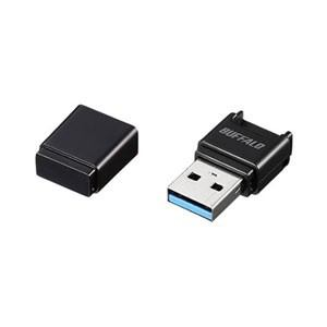 バッファロー BSCRM100U3BK USB3.0 Type-A対応 microSD専用カードリーダー/ ライター(ブラック)