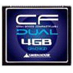 グリーンハウス GH-CF4GD 4GBコンパクトフラッシュ