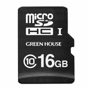 グリーンハウス GH-SDM-A16G ドライブレコーダー向けmicroSDHCカード 16GB