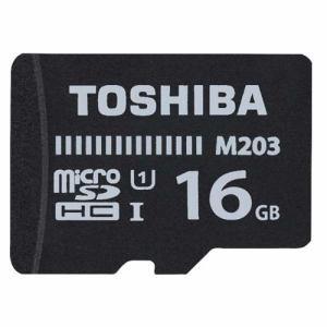 東芝 MU-J016GX 16GB・UHS Speed Class1(Class10)対応 microSDHCカード(SDHC変換アダプタ付)
