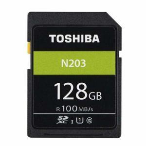 東芝 SD-LU128G 128GB・UHS Speed Class1(Class10)対応SDXCカード