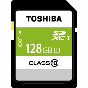 東芝 SDBR48N128G 128GB・UHS Speed Class1(Class10)対応SDXCカード