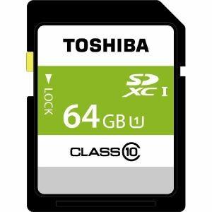 東芝 SDBR48N64G 64GB・UHS Speed Class1(Class10)対応SDXCカード