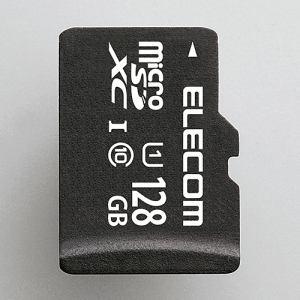 エレコム MF-DMR128GUL microSDXCメモリカード(UHS-I対応) 128GB