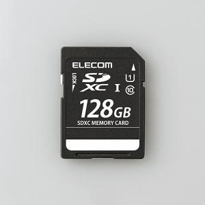 エレコム MF-DSD128GUL SDXCメモリカード(UHS-I 対応) 128GB
