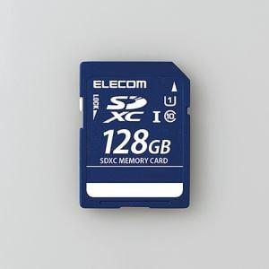 エレコム MF-DSD128GU11R SDXCメモリカード(UHS-I 対応) 128GB