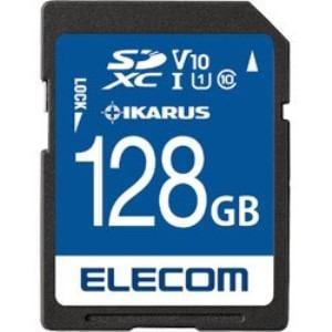 エレコム MF-FS128GU11IKA SDXCメモリーカード UHS-I U1 IKARUS付/128GB