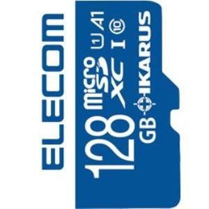 エレコム MF-MS128GU11IKA MicroSDXCメモリーカード UHS-I U1 IKARUS付/128GB