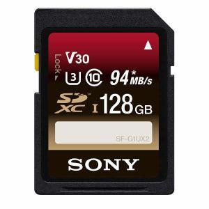 ソニー SF-128UX2B 128GB SDXCカード UHS-I Class10