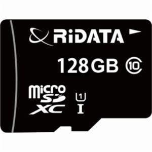 RiDATA WRI-MSX128GC10U1 microSDカード RiDATA microSDカード  ブラック