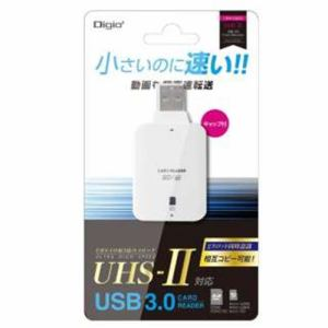 ナカバヤシ CRW3SD72W カードリーダー UHS2対応 ホワイト